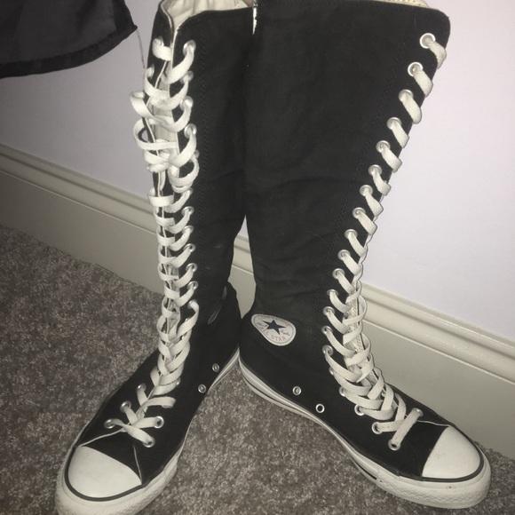 knee high converse size 12 Online
